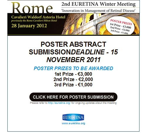"2nd Euretina Winter Meeting: ""Innovation in Management of Retinal Diseases"""